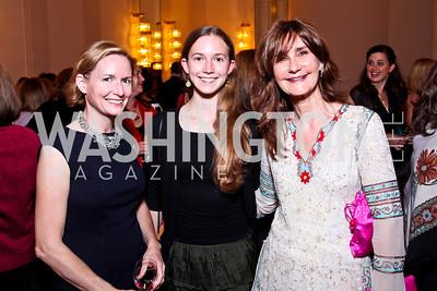 Tia Cudahy, Eliza Dach, Kyle Gibson. 2012 Vital Voices Global Leadership Awards. Photo by Tony Powell. Kennedy Center. June 6, 2012