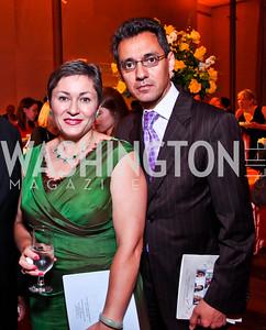 Cidalia and Masud Akbar. 2012 Vital Voices Global Leadership Awards. Photo by Tony Powell. Kennedy Center. June 6, 2012