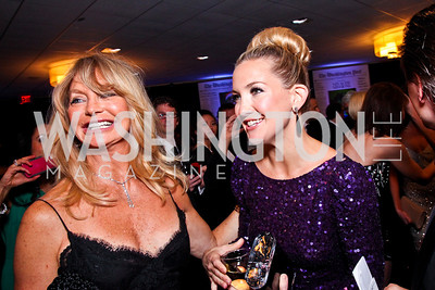 Goldie Hawn and Kate Hudson. White House Correspondents Dinner Pre-parties. Photo by Tony Powell. Hilton Hotel. April 28, 2012