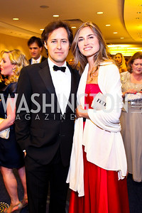 David Lauren and Lauren Bush Lauren. White House Correspondents Dinner Pre-parties. Photo by Tony Powell. Hilton Hotel. April 28, 2012