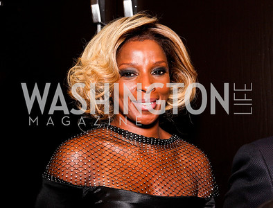 Mary J. Blige. White House Correspondents Dinner Pre-parties. Photo by Tony Powell. Hilton Hotel. April 28, 2012
