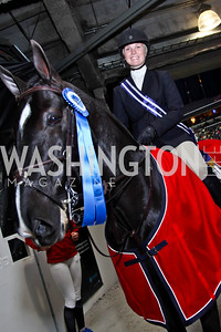 Elizabeth Benson. Photo by Tony Powell. Washington International Horse Show. Verizon Center. October 27, 2012