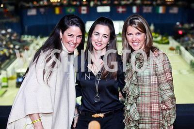 Debbie Winsor, Gwen Holliday, Suzanne Youngkin. Photo by Tony Powell. Washington International Horse Show. Verizon Center. October 27, 2012
