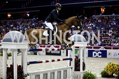 Marie Hecart. Photo by Tony Powell. Washington International Horse Show. Verizon Center. October 27, 2012