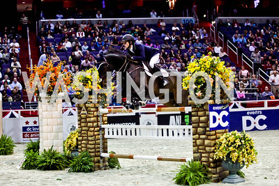 Sean Crooks. Photo by Tony Powell. Washington International Horse Show. Verizon Center. October 27, 2012