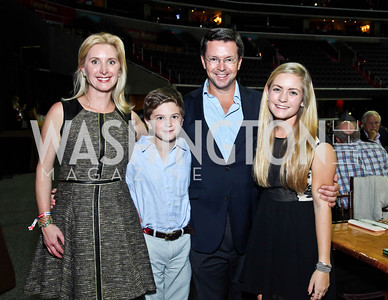 Juliet, Harry, Sam, and Chloe Reid. Photo by Tony Powell. Washington International Horse Show. Verizon Center. October 27, 2012