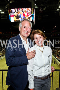 Boeing CEO Jim McNerney and Heidi McNerney. Photo by Tony Powell. Washington International Horse Show. Verizon Center. October 27, 2012