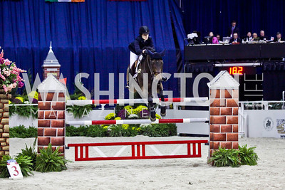 Jessica Springsteen. Photo by Tony Powell. Washington International Horse Show. Verizon Center. October 27, 2012