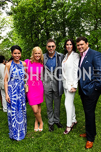 Angie Goff, Pamela Brown, Tim Daly, Amy and Bret Baier. 2012 Tammy Haddad WHCD Garden Brunch. Photo by Tony Powell. Beall-Washington House. April 28, 2012