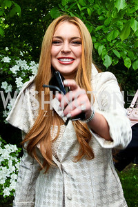 Actress Lindsay Lohan. 2012 Tammy Haddad WHCD Garden Brunch. Photo by Tony Powell. Beall-Washington House. April 28, 2012
