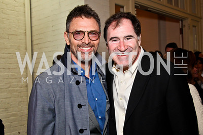 Actors Tim Daly and Richard Kind. 2012 Tammy Haddad WHCD Garden Brunch. Photo by Tony Powell. Beall-Washington House. April 28, 2012