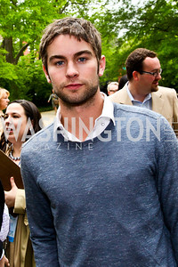 Actor Chace Crawford. 2012 Tammy Haddad WHCD Garden Brunch. Photo by Tony Powell. Beall-Washington House. April 28, 2012