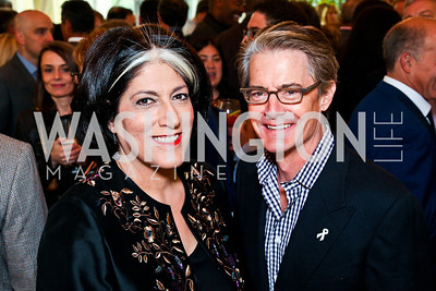 Tammy Haddad, Actor Kyle MacLachlan. 2012 Tammy Haddad WHCD Garden Brunch. Photo by Tony Powell. Beall-Washington House. April 28, 2012