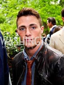 Actor Colton Haynes. 2012 Tammy Haddad WHCD Garden Brunch. Photo by Tony Powell. Beall-Washington House. April 28, 2012