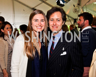 Lauren Bush Lauren and David Lauren. 2012 Tammy Haddad WHCD Garden Brunch. Photo by Tony Powell. Beall-Washington House. April 28, 2012