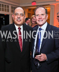 Shashi Vohra, Bill Reilly. Photo by Tony Powell. Wings of Hope Gala. Trump National Golf Club. November 3, 2012