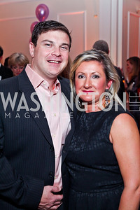 Matt and Sherri Clyne. Photo by Tony Powell. Wings of Hope Gala. Trump National Golf Club. November 3, 2012