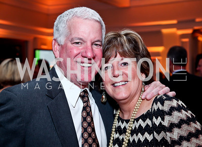 John Flynn and Marcia Flynn Behr. Photo by Tony Powell. Wings of Hope Gala. Trump National Golf Club. November 3, 2012