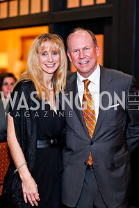 Survivors Marissa Levin, Steve Wiltse. Photo by Tony Powell. Wings of Hope Gala. Trump National Golf Club. November 3, 2012