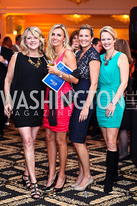 Susie Marentis, Helena Fellows, Angie Paolozzi, Sherri Dean. Photo by Tony Powell. Wings of Hope Gala. Trump National Golf Club. November 3, 2012
