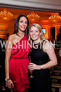 Sadaf Saberi, Samantha Marsengill. Photo by Tony Powell. Wings of Hope Gala. Trump National Golf Club. November 3, 2012