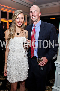 Michelle Zauzig, Sean Glennon. Photo by Tony Powell. Wings of Hope Gala. Trump National Golf Club. November 3, 2012