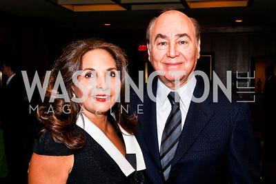 Samia and Huda Farouki. 2012 Woodrow Wilson Award for Public Service. Photo by Tony Powell. Four Seasons. April 26, 2012