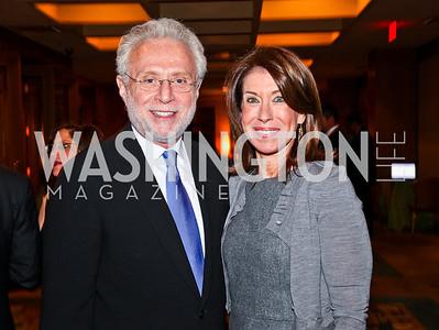 Wolf and Lynn Blitzer. 2012 Woodrow Wilson Award for Public Service. Photo by Tony Powell. Four Seasons. April 26, 2012