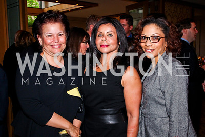 Debra Lee, Marcia Dyson, Traci Blunt. 2012 Woodrow Wilson Award for Public Service. Photo by Tony Powell. Four Seasons. April 26, 2012
