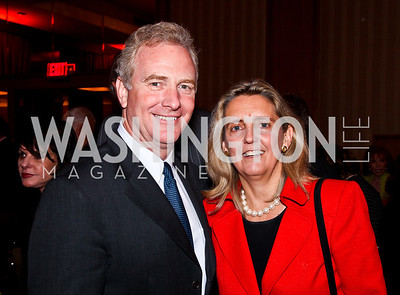 Rep. Chris and Katherine Van Hollen. 2012 Woodrow Wilson Award for Public Service. Photo by Tony Powell. Four Seasons. April 26, 2012