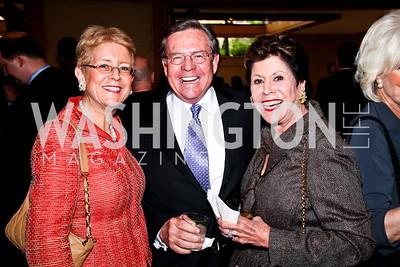Nancy Zirkin, Jim Free, Liz Dubin. 2012 Woodrow Wilson Award for Public Service. Photo by Tony Powell. Four Seasons. April 26, 2012