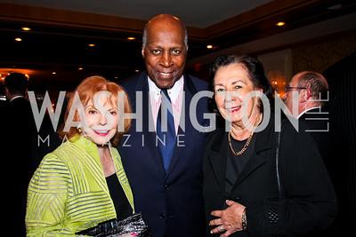 Buffy Cafritz, Vernon and Ann Jordan. 2012 Woodrow Wilson Award for Public Service. Photo by Tony Powell. Four Seasons. April 26, 2012