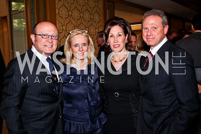 Franco Nuschese, Debbie Dingell, Catherine and Wayne Reynolds. 2012 Woodrow Wilson Award for Public Service. Photo by Tony Powell. Four Seasons. April 26, 2012
