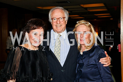 Alma Gildenhorn, Bob Barnett, Debbie Dingell. 2012 Woodrow Wilson Award for Public Service. Photo by Tony Powell. Four Seasons. April 26, 2012