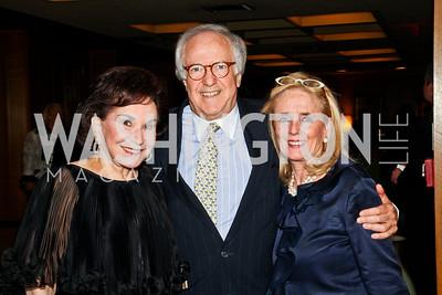 Alma Gildenhorn, Bob Barnett, Debbie Dingell. 2012 Woodrow Wilson Award for Public Service. Photo by Tony Powell. Four Seasons. April 26, 2012