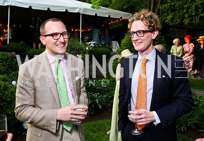 Ethan Drath, Frankie Loucostic. Woodrow Wilson House Perennial Garden Party. Photo by Tony Powell. May 16, 2012