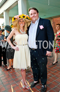 Brooke Henderson, Fritz Brogan. Woodrow Wilson House Perennial Garden Party. Photo by Tony Powell. May 16, 2012