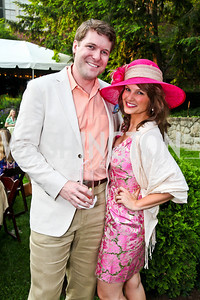 Grant Allen, Katherine Kennedy. Woodrow Wilson House Perennial Garden Party. Photo by Tony Powell. May 16, 2012