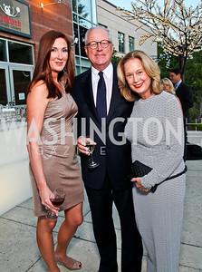 Danielle St.Germain-Gordon, Jim Johnson, Carol Joynt. Photo by Tony Powell. 2012 after dark@ THEARC. September 15, 2012
