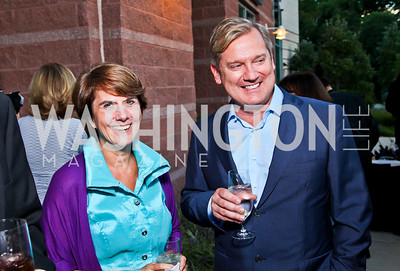 Marjo Talbot, Mark McFadden. Photo by Tony Powell. 2012 after dark@ THEARC. September 15, 2012