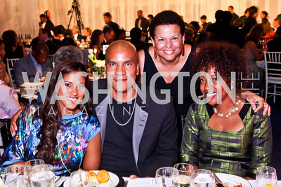 Rachel and Paxton Baker, Debra Lee, Gina Adams. Photo by Tony Powell. 2012 after dark@ THEARC. September 15, 2012