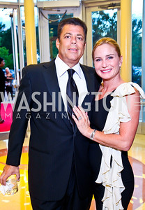 Richard and Rebecca Kay. Photo by Tony Powell. 2012 after dark@ THEARC. September 15, 2012