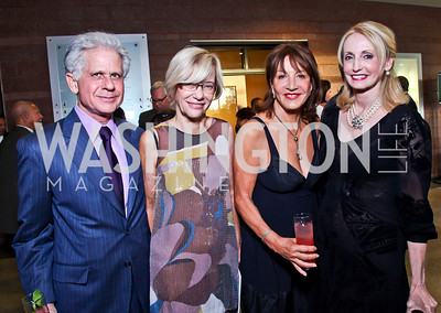 Donald Friedman, Karen Thomas, Chef Nora Pouillon, Rhona Wolfe Friedman. Photo by Tony Powell. 2012 after dark@ THEARC. September 15, 2012