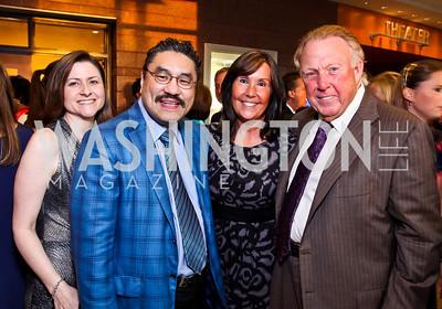 Paula and Bob Hisaoka, Bonnie and Dick Patterson. Photo by Tony Powell. 2012 after dark@ THEARC. September 15, 2012