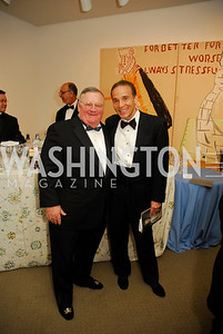 Joe Santarlasci,Ricardo Ernst,April 27,2012,National Museum of Women in the Arts 25th Anniversary Gala.Kyle Samperton
