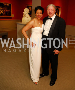 Andrea Roane,Michael Skehan,April 27,2012,National Museum of Women in the Arts 25th Anniversary Gala.Kyle Samperton