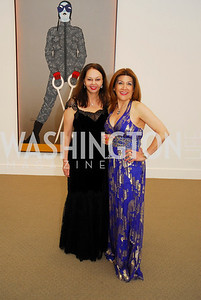 Tara Sharmin,Faye Vokni,April 27,2012,National Museum of Women in the Arts 25th Anniversary Gala.Kyle Samperton