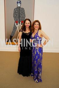 Tara Sharmin,Faye Vokni,April 27,2012,National Museum of Women in the Arts 25th Anniversary Gala.Kyle Samperton