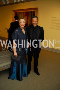Dianne Bailey,Daniel Bailey,April 27,2012,National Museum of Women in the Arts 25th Anniversary Gala.Kyle Samperton