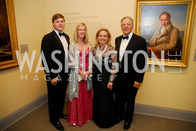 Kenneth George,Carolyn George,Tricia George,Ken George,,April 27,2012,National Museum of Women in the Arts 25th Anniversary Gala.Kyle Samperton